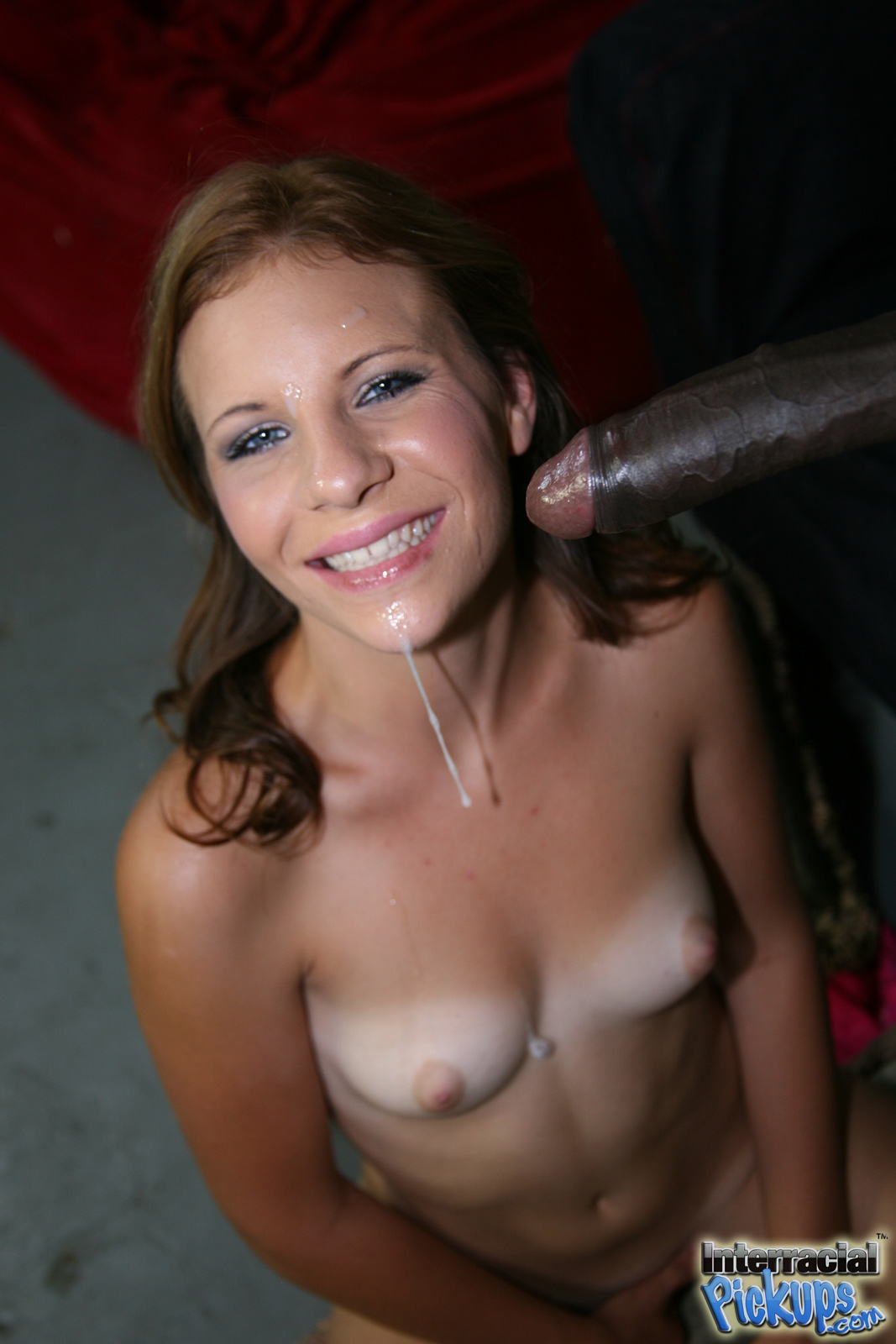 image Jizzelle ryder picked up by a black man